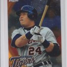 Miguel Cabrera Trading Card Single 2010 Topps Chrome #156 Tigers