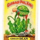 Green Dean Sticker 1986 Topps Garbage Pail Kids #105b