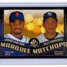 Alex Rodriguez Johan Santana Marquee Matchups Insert 2008 UD SP Authentic #MM34