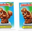 Audacious Auguste Stinker Stan Artistic Influence 2015 Topps Garbage Pail Kids