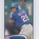 Adrian Beltre Trading Card Single 2012 Topps #310 Rangers
