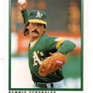Dennis Eckersley Trading Card Single 1991 OPC #38 Athletics