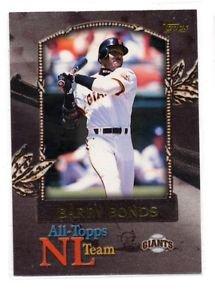 Barry Bonds All-Topps NL Team 2000 Topps #AT7 Giants