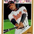 Adam Jones Trading Card Single 2011 Topps Heritage #165 Orioles