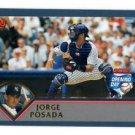 Jorge Posada Trading Card Single 2003 Topps Opening Day #147 Yankees