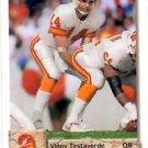 Vinny Testaverde Trading Card Single 1992 Upper Deck #147 Buccaneers