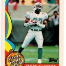 Mark Clayton Tradng Card Single 1989 Topps #12 Dolphins