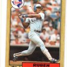 Ruben Sierra RC Trading Card Single 1987 Topps #261 Rangers NMMT
