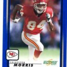 Sylvester Morris Trading Card Single 2001 Score #98 Chiefs