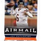 Jay Cutler Airmail Trading Card Single 2013 Score #226 Bears