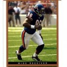 Marty Booker Trading Card Single 2003 Topps Draft PIcks #12 Bears