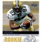 Joe Horn Trading Card Single 2005 Upper Deck Rookie Debut #62 Saints