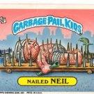 Nailed Neil Sticker 1986 Topps Garbage Pail Kids #155b