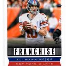 Eli Manning Franchise Trading Card Single 2013 Score #287 Giants