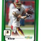 Andre Reed Trading Card Single 2001 Score #211 Redskins