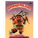 Mad Mike License Back Sticker 1985 Topps Garbage Pail Kids UK Mini #33a