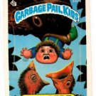 Early Bert Sticker 1987 Topps Garbage Pail Kids #337a NMT