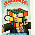 Blockhead Blake Sticker 1987 Topps Garbage Pail Kids #277b EX+ Off-Centered