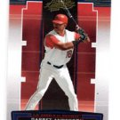 Garret Anderson Trading Card Single 2005 Playoff Absolute Memorabilia #16 Angels
