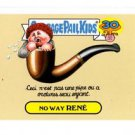 No Way Rene Artistic Influence Single 2015 Topps Garbage Pail Kids #7a
