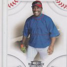 Tim Raines Trading Card Single 2008 Donruss Threads #37 Expos QTY