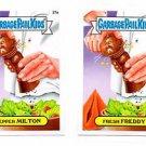 Pepper Milton Fresh Freddy Card Lot (2) 2015 Topps Garbage Pail Kids 27a 27b