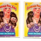 Furry Murray Sticker Lot of (2) 1986 Topps Garbage Pail Kids #133a EX