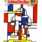Grant Grid Artistic Influence Single 2015 Topps Garbage Pail Kids #9b