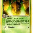 Kakuna Uncommon Trainer Pokemon Ex FireRed and LeafGreen 36/112