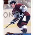 Theoren Fleury Red Trading Card Single 1999-00 Pacific Paramount #148