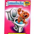 Gerald Goldfish Pets Sticker Insert 2015 Topps Garbage Pail Kids #4a