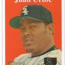 Juan Uribe Trading Card Single 2007 Topps Heritage #74 White Sox