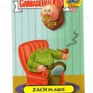 Zach Plaque Zoom-Out Sticker 2015 Topps Garbage Pail Kids #3b