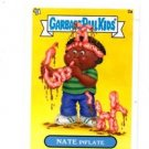 Nate Inflate Trading Card Single 2013 Topps Garbage Pail kids Minis #2a