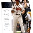 Andruw Jones Trading Card Single 2002 SP Authentic #50 Braves