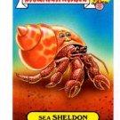 Sea Sheldon Pets Sticker 2015 Topps Garbage Pail Kids #6b