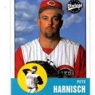 Pete Harnisch Trading Card Single 2001 UD Vintage #326 Reds