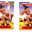 Hairy Carrie Comic Book Sticker Lot (2) 2015 Topps Garbage Pail Kids #5a