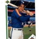 Andujar Cedeno RC Trading Card Single 1991 Upper Deck #23 Astros