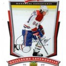 Guillame Latendresse Trading Card Single 2007-08 UD MVP #55 Canadiens