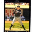 Eric Byrnes Red Back SP MGR Trading Card 2007 Topps #188 Diamondbacks