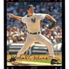 Mike Mussina Trading Card Single 2007 Topps #452 Yankees