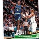 Brian Howard RC Trading Card Single 1992-93 Fleer Ultra #247 Mavericks