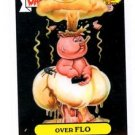 Over Flo Adam Bomb Don't Push Button Sticker 2015 Topps Garbage Pail Kids #7a