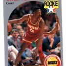Byron Dinkins RC SP Trading Card Single 1990 Hoops #123 Rockets