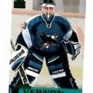 Mike Vernon Emerald Trading Card Single 1999-00 Pacific Paramount #212 Sharks