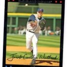 Jake Westbrook Red Back SP Trading Card 2007 Topps #72 Indians