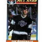 Luc Robitaille Trading Card Single 1991-92 OPC #260 Kings