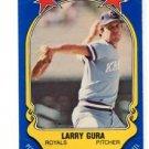 Larry Gura Trading Card 1981 Fleer Sticker #102 Royals
