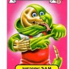Shedding Sam Kids Sticker 2015 Topps Garbage Pail Kids #10a
